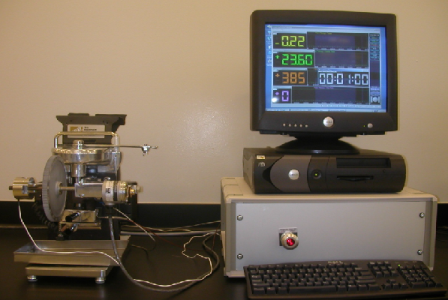 установка Pin & Vee Block test Machine